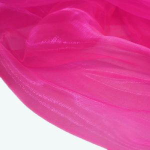 Organza Stoff in Pink