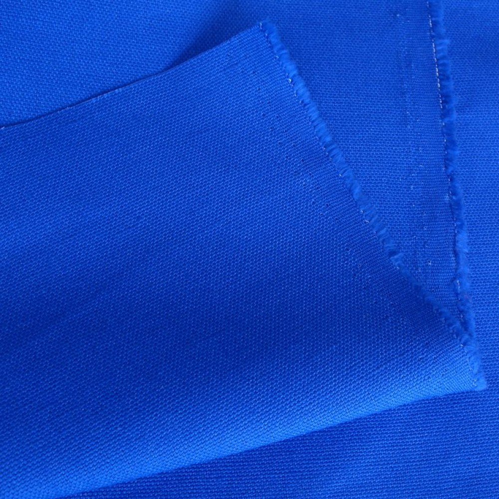 mittelschwerer Baumwoll-Canvas in royal blau