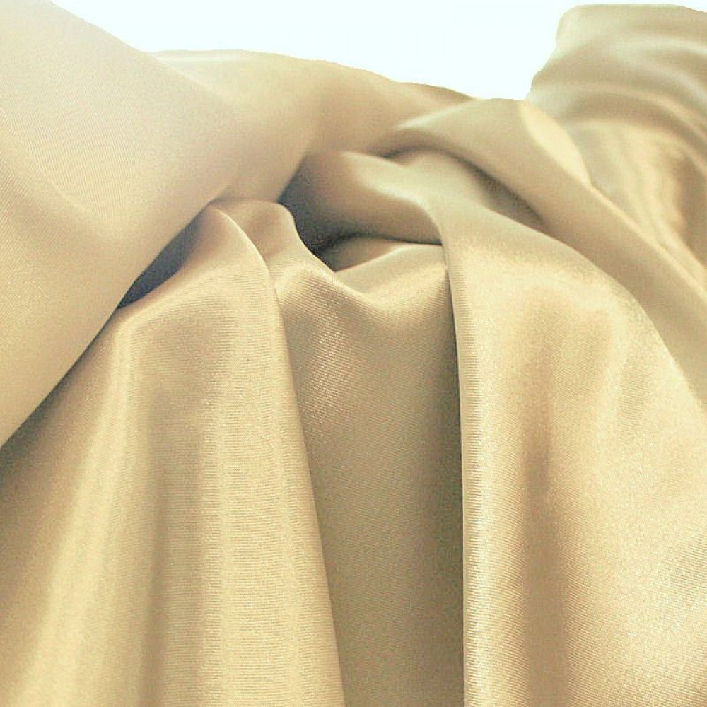 Glanz Satin in Beige