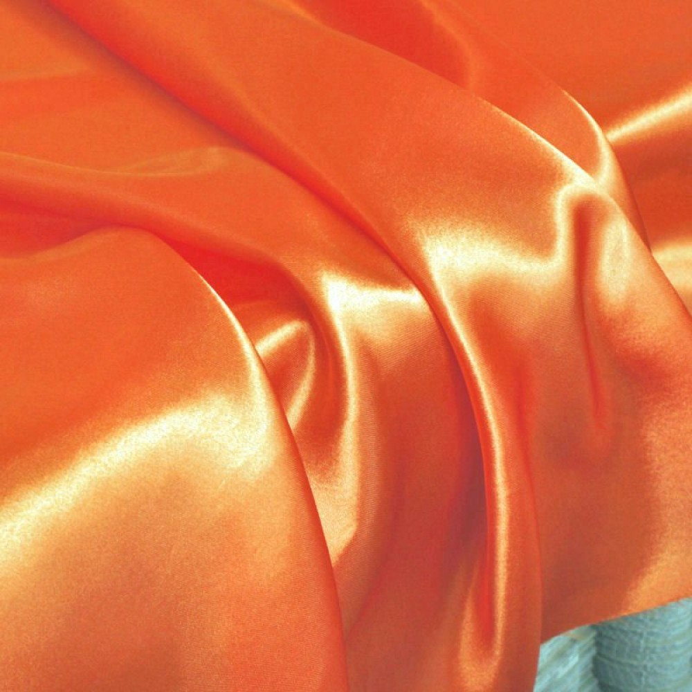 Glanz Satin in Orange