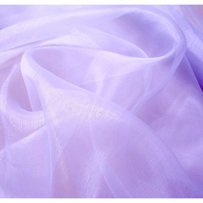 Organza Stoff in Flieder