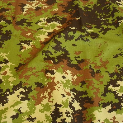 Italien Camouflage Stoff Ripstop