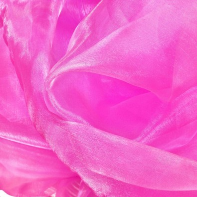 Organza in Neon Pink